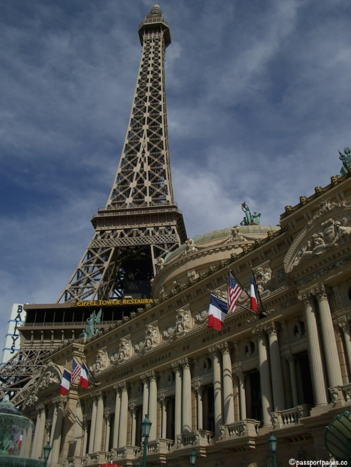 Eiffel Tower at the Paris Hotel in Las Vegas