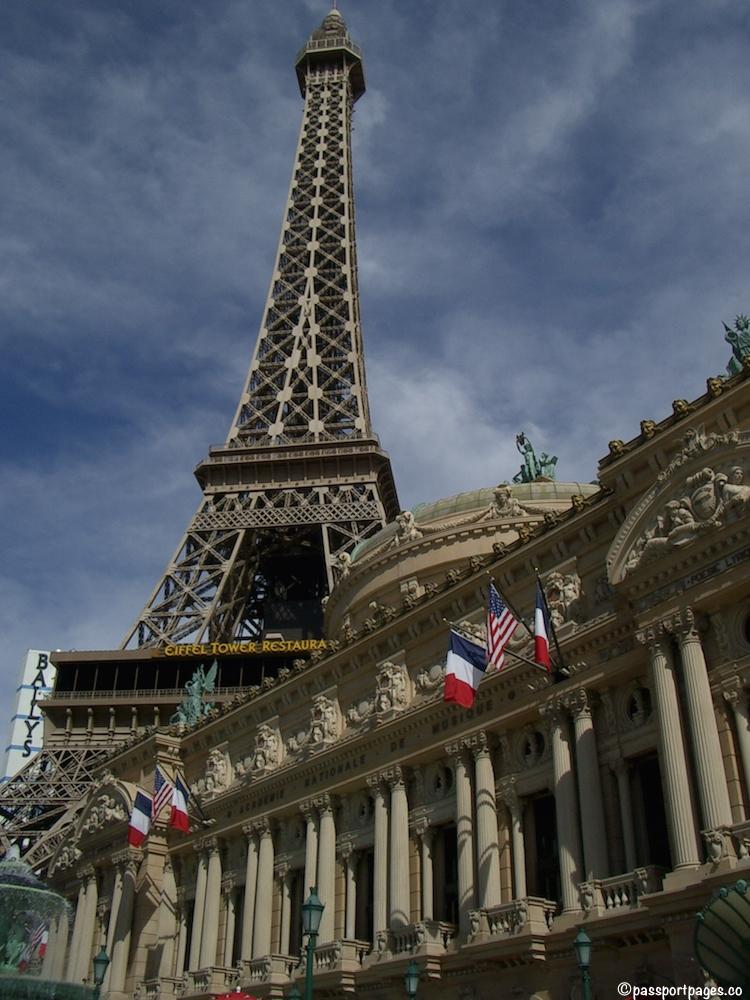 Eiffel Tower at the Paris Hotel in Las Vegas