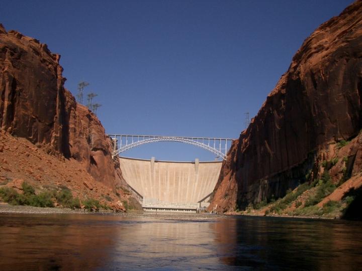 Dam at Grand Canyon