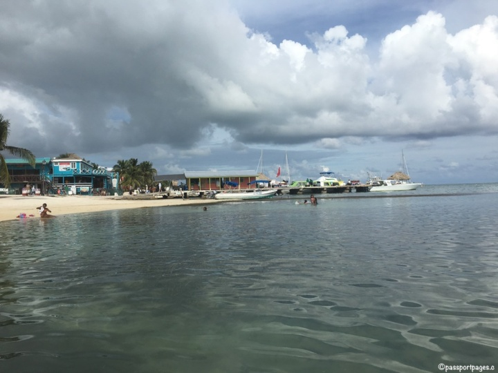 Ambergris-Caye-water-taxi-dock