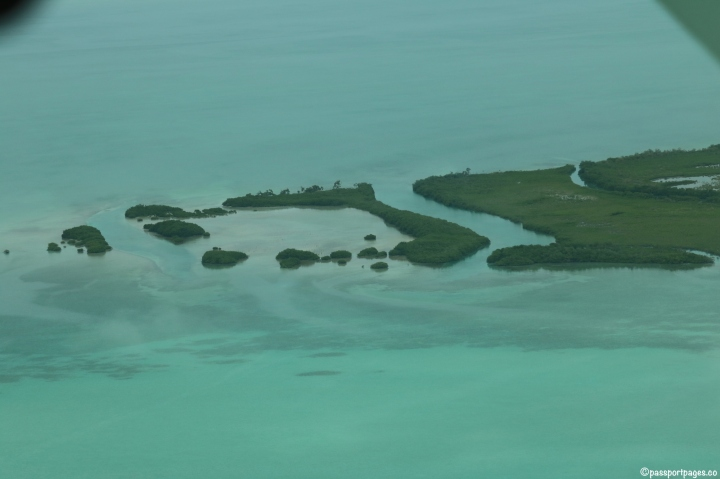 Flight-San-Pedro-Belize-view