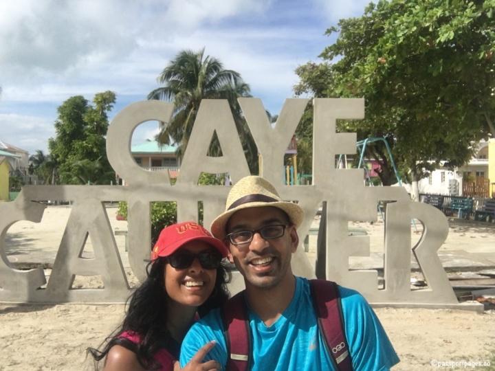 Samta-Ajay-Caye-Caulker-sign