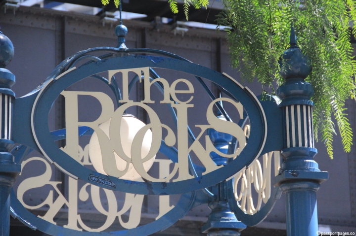 The-Rocks-Sydney-Australia-sign-travel-blog-passport-pages