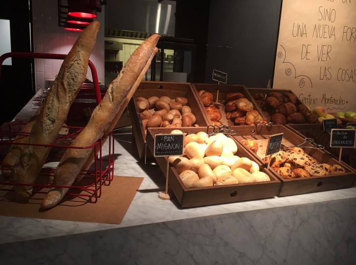 Hyatt-Centric-Montevideo-breakfast-Plantando-breads-muffins-pastries-hotel