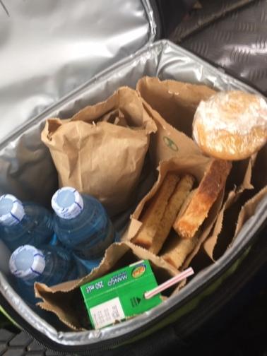 Packed breakfast from Kyuninga on the day we went chimp trekking