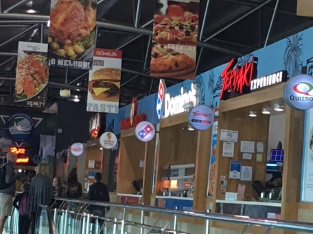 Fast food eateries