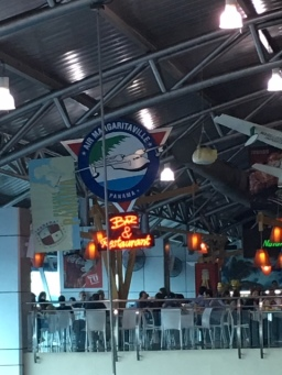 If you have a longer layover, grab and drink and relax or catch a soccer match at this sports bar and restaurant.